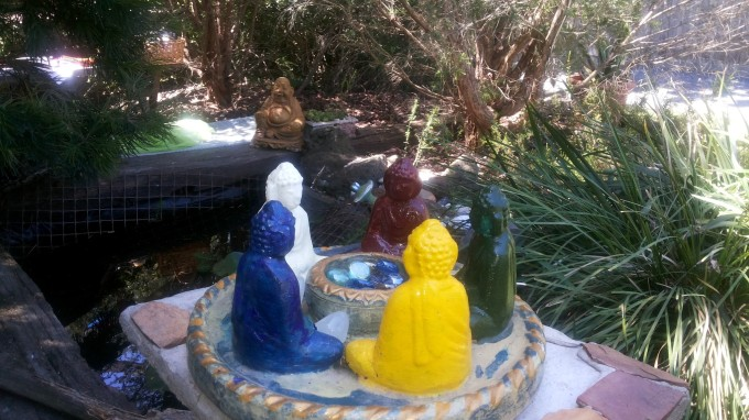 5 buddhas